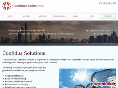 Confiduss.com
